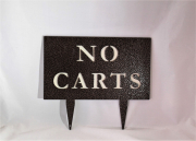 Cart Directional Sign -Mountaintop