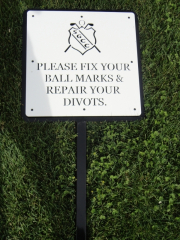 Golf Course Directional Signage -Skagit