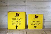 Golf Course Directional Signs -Kapalua
