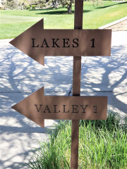Hidden Valley Arrow Signs
