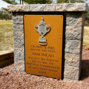 Sam Snead Sign- Seaview