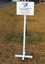 Signs for Golf Courses -Gardiner's Bay CC