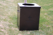 Trash Cans for Golf Courses --Royal Oaks