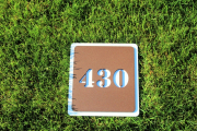 In-Ground Yardage Plates -Troon CC