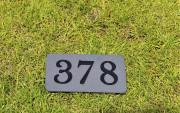 In-ground yardage plates -TPC COLORADO
