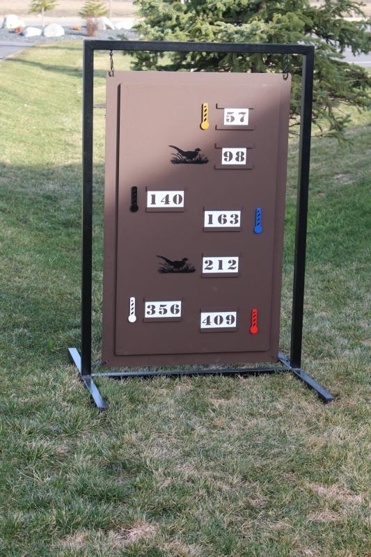 Golf Range Layout Sign -LegacyRidge