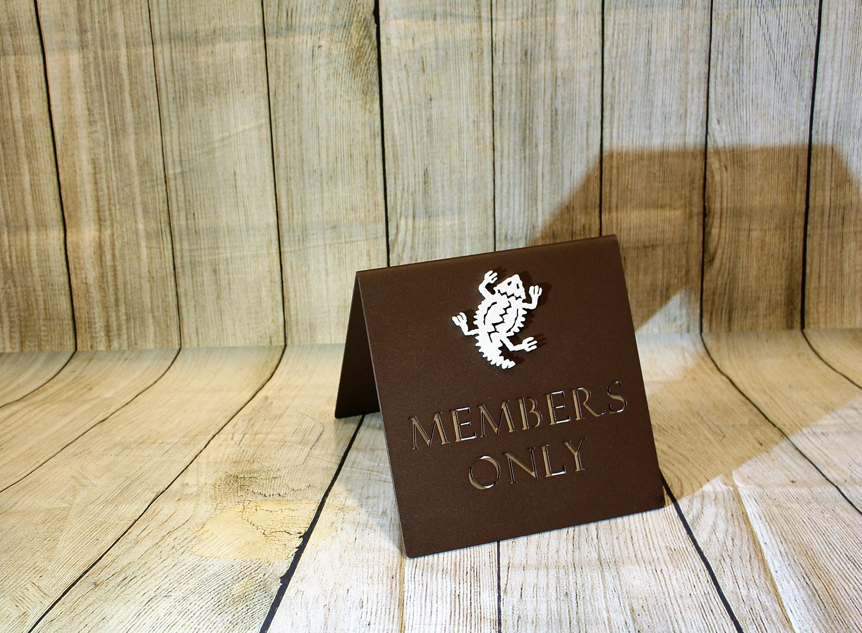 Members Only A-frame Sign -Troon North