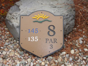 Tee Sign -North Links