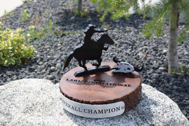 Rock Creek Cattle Company Lariate Trophies