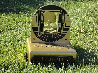 WYKAGLE -Custom Golf Trophy