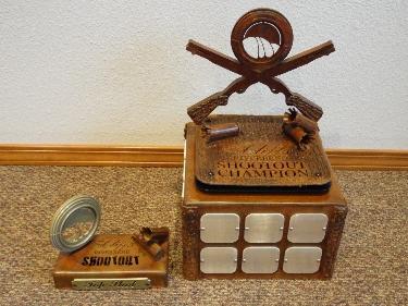 RIVERBEND -Custom Skeet Shooting Trophies
