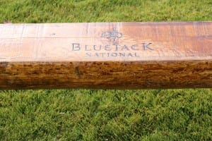 Blue Jack National Wood Bench for Golf Courses