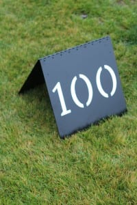Golf Course Range Targets -Blue Jack National