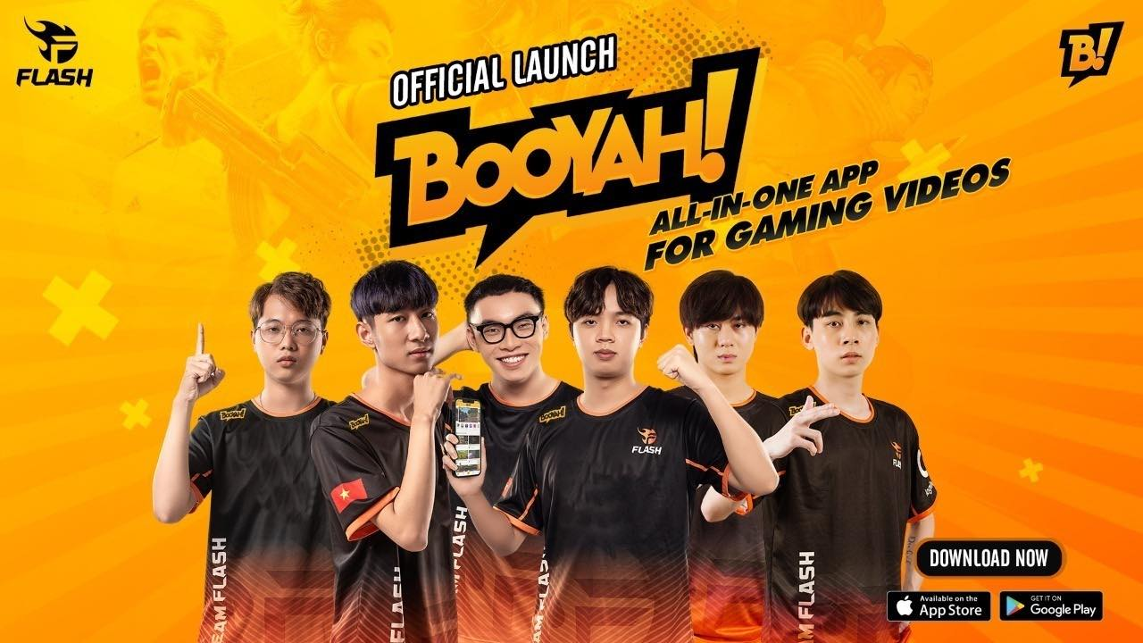 Team Flash names Booyah! Live as Exclusive Streaming Partner in Vietnam
