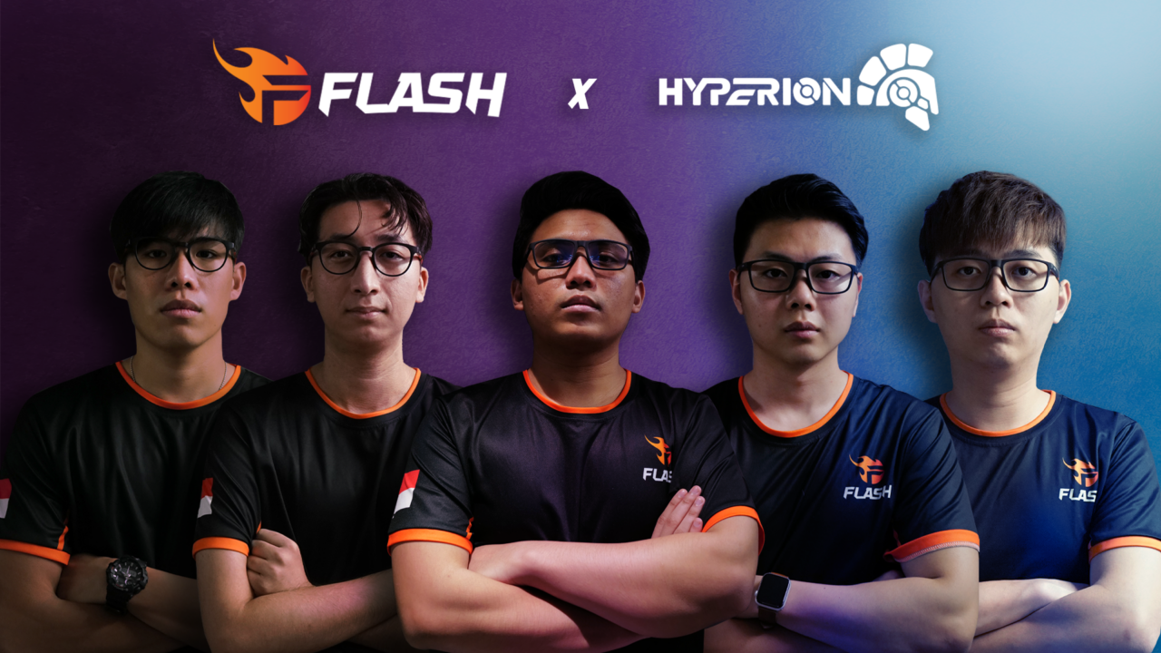 Team Flash Teams Up With Local Gaming Spectacle Brand – Hyperion Gear