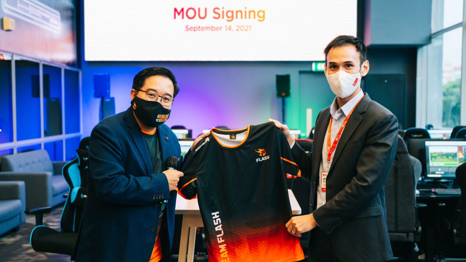 XCL Education and Team Flash sign Landmark Agreement