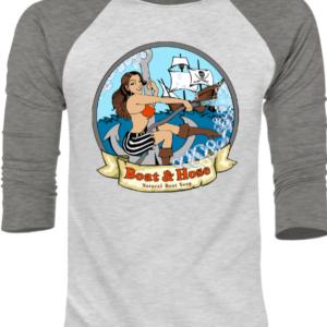 B&H Sea Vixen Baseball Shirt