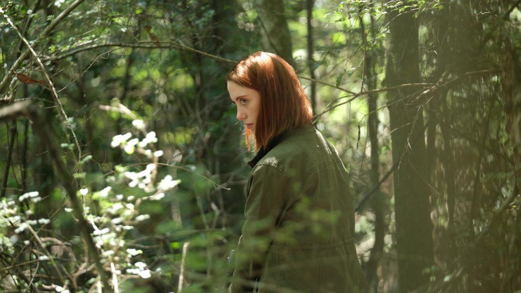 actress-in-woods
