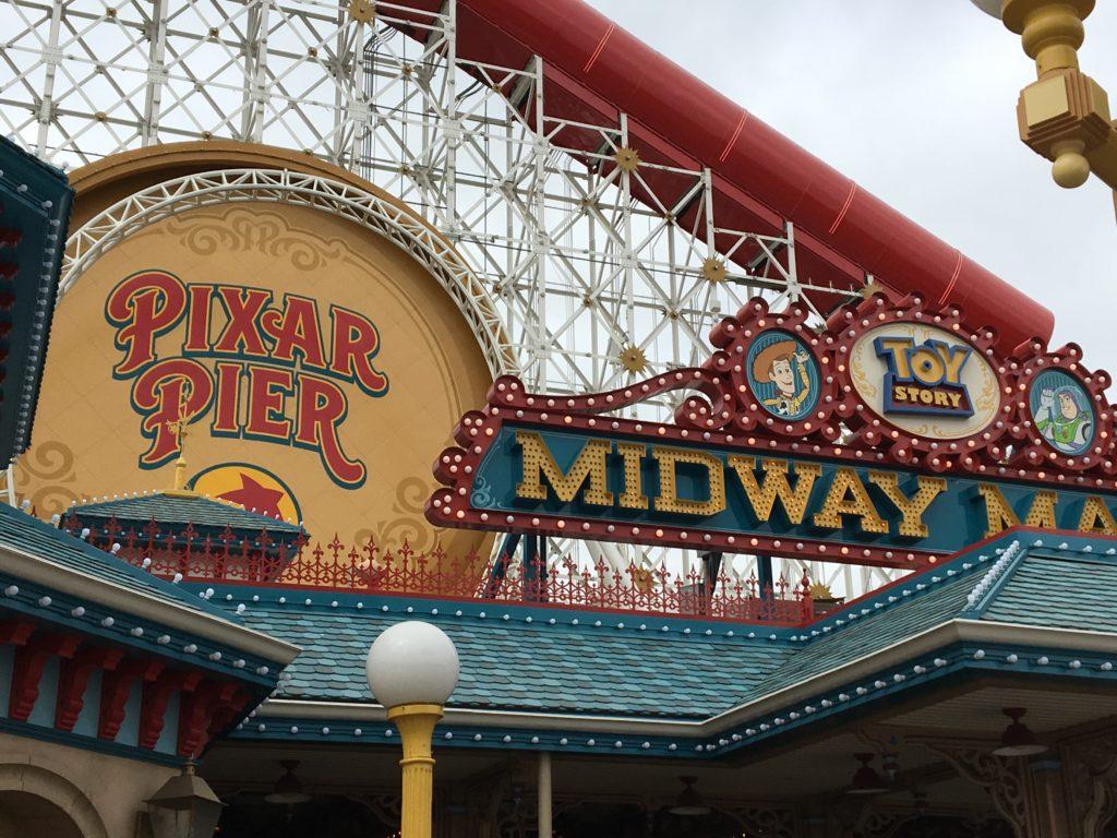 Pixar Pier - Disney California Adventure Park - Disneyland Resort