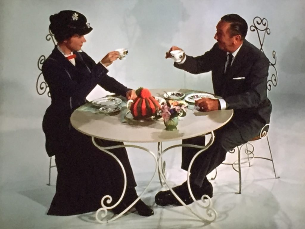 Mary Poppins & Walt Disney