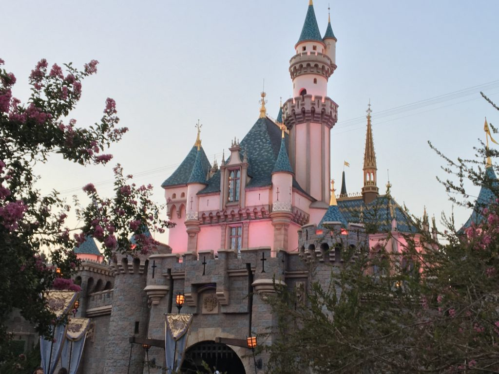 Sleeping Beauty Castle at the Disneyland Resort