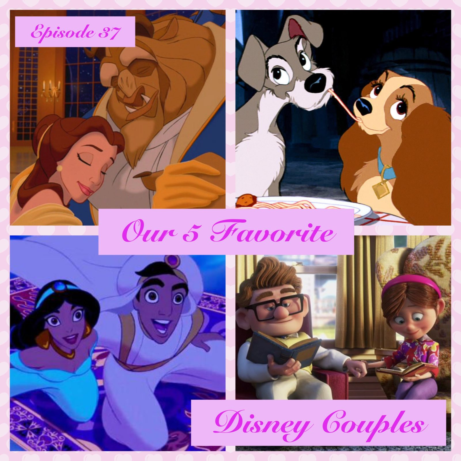 Our 5 Favorite Disney Couples