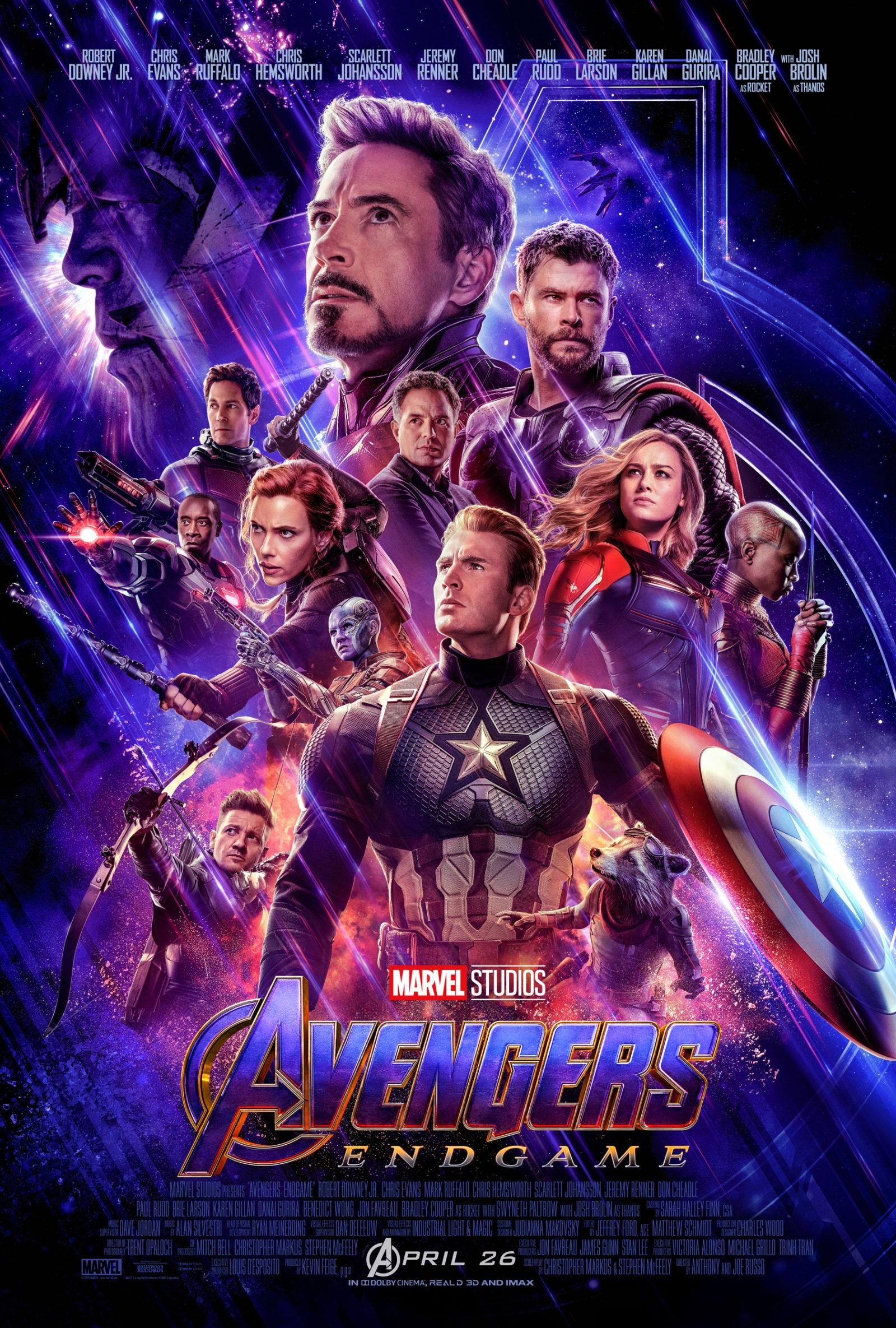 Avengers Endgame - Poster