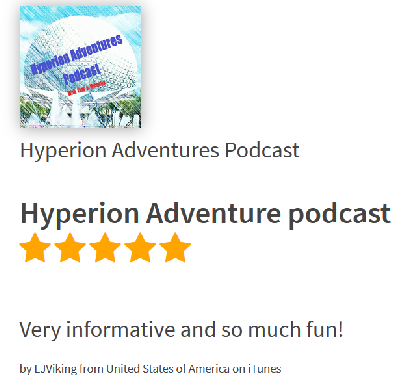 Hyperion Adventures Podcsast Review