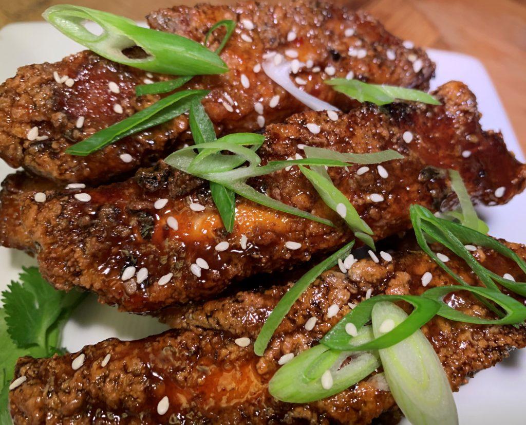 Disney Dishes Blog - Hoisin Sticky Spare Ribs