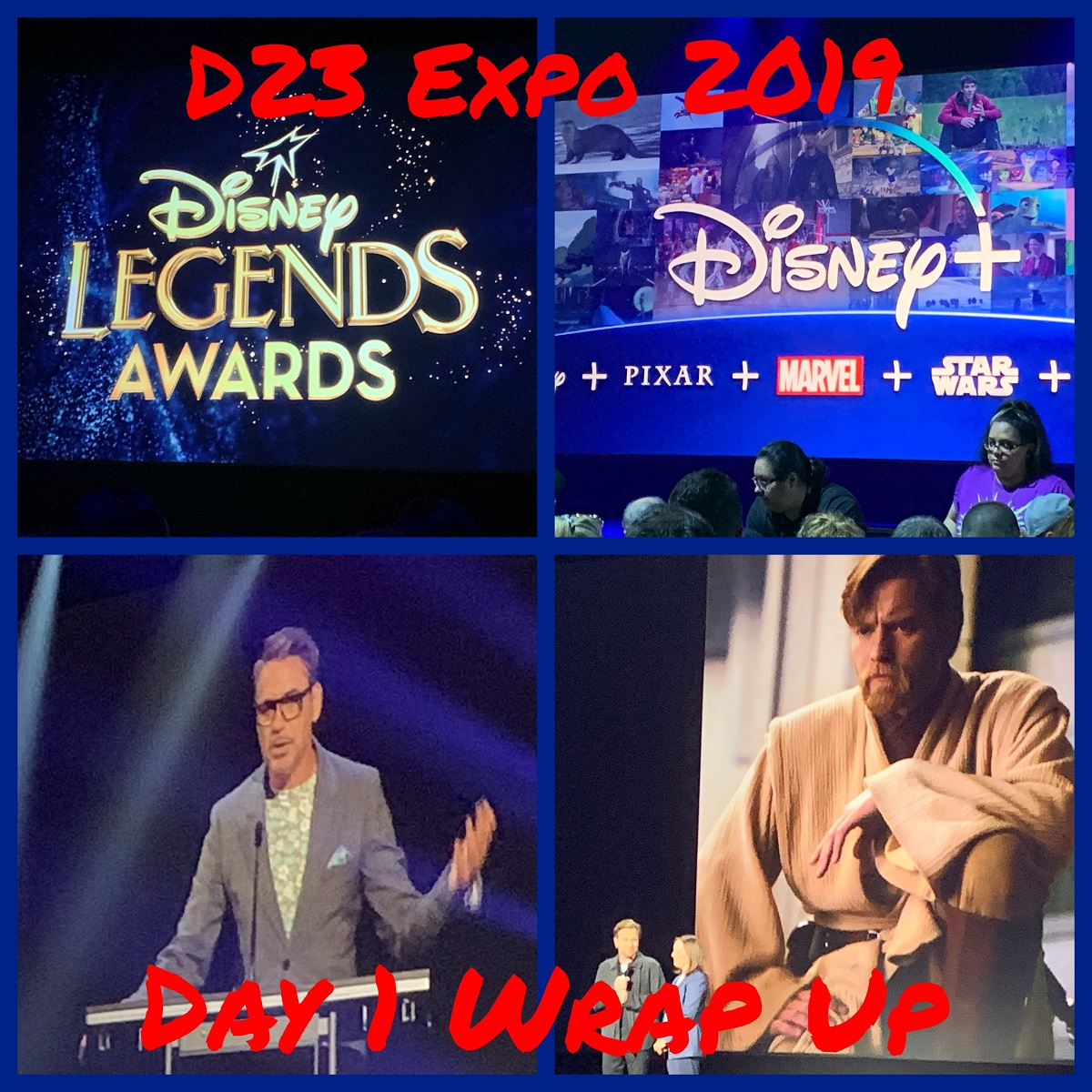 D23 Expo - Day 1 Wrap Up