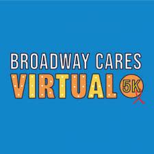 Broadway Cares Virtual 5K Logo