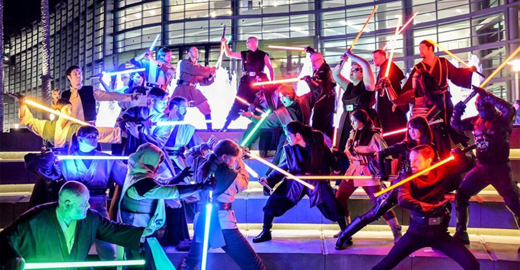 Star Wars Fnas - Jedi vs Sith - Our Virtual Star Wars Celebration, Celebration
