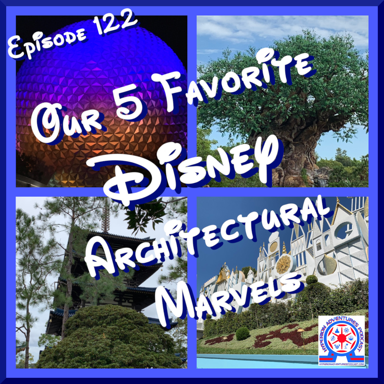 Our 5 Favorite Disney Archtectural Marvels