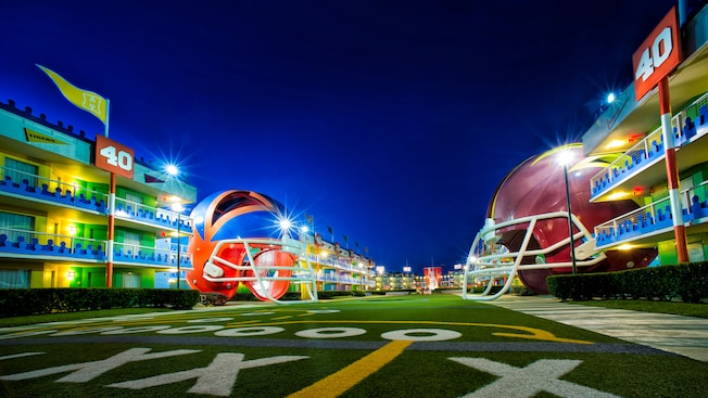 Disney's All Star Sports Resort - Walt Disney World - How To Get The Most From Disney's Value Resorts
