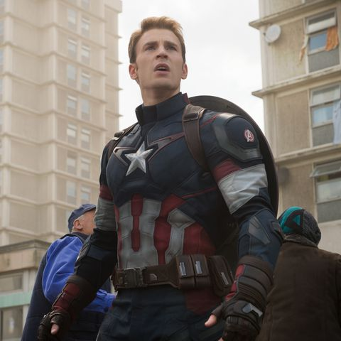 Chris Evans as Captain America - Our 5 Favorite Songs That Shout Disney