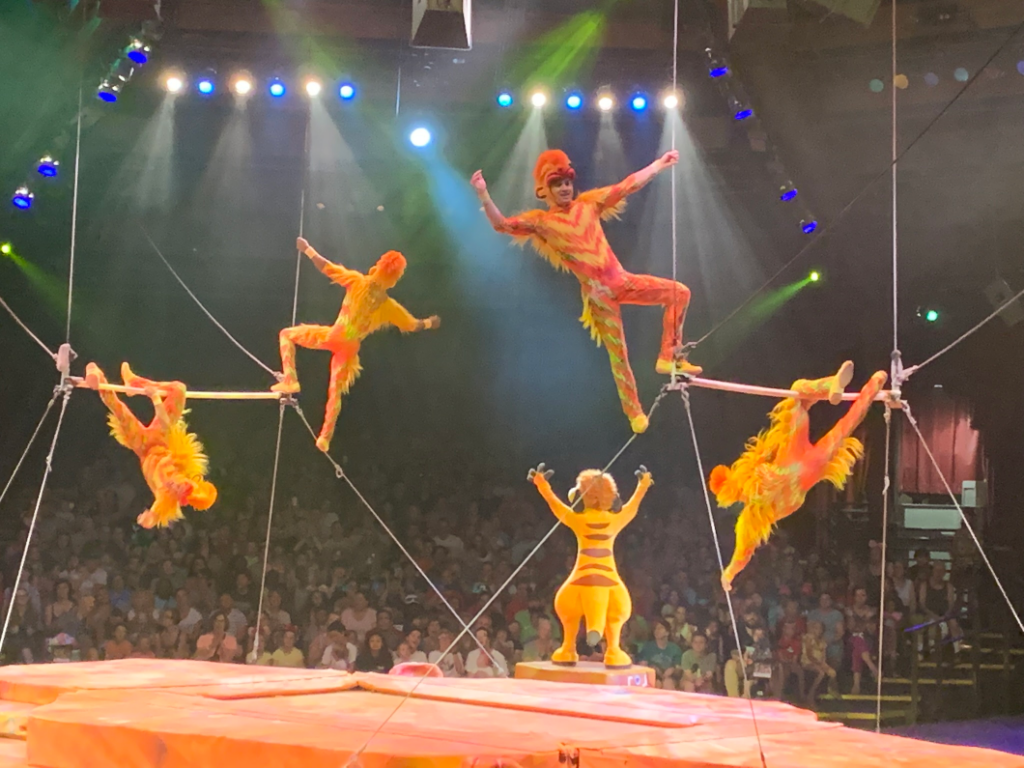 Monkey Acrobats - Festival of the Lion King - All About Pluto - The Original Disney Dog