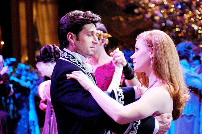 Giselle and Robert from Enchanted - Our 5 Favorite Romantic Disney Moments