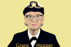 "Rear Admiral ""Amazing"" Grace Hopper"