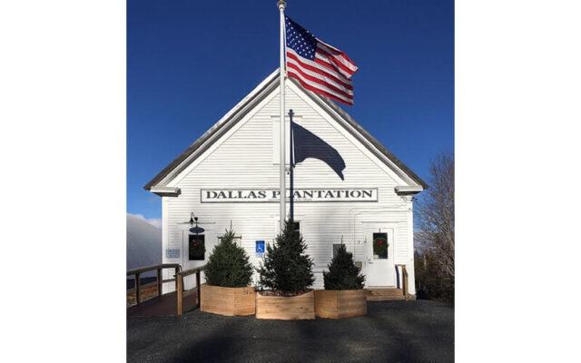 Dallas Plantation Town House, Rangeley Lakes Region, Maine.