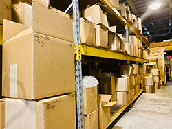 JRM products warehouse