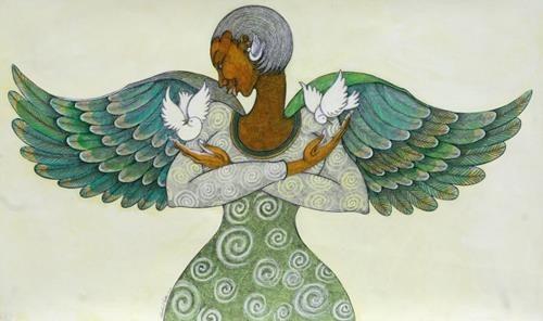 Angel of Peace by Charles Bibbs