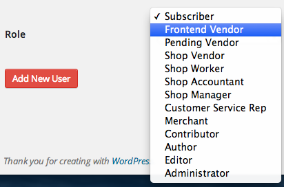 Sell with WP Digital Goods Marketplace | FES User Roles
