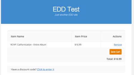 Easy DIgital Downloads change coupon field 1