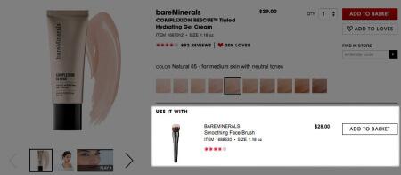 eCommerce Cross-sell