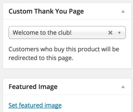 WooCommerce Custom Thank You