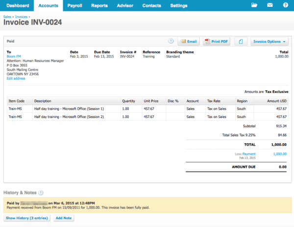 accounting for eCommerce stores xero