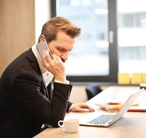 Customer phone interview