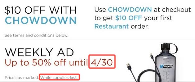 Scarcity marketing