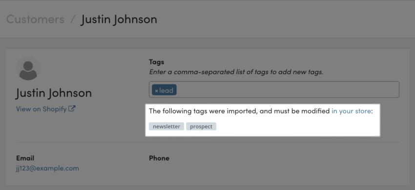 Jilt: using remote tags