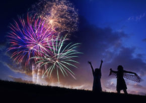 Fireworks explode for Fourth of July marketing emails